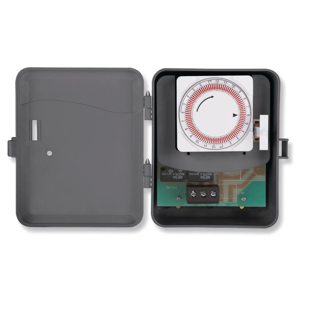 Westek 25 Amp 250-Volt Water Heater Timer