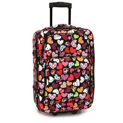 Love Hearts Carry-On Rolling Luggage