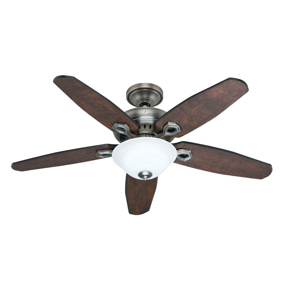 Hunter Fairhaven 52 in. Antique Pewter Ceiling Fan with Remote Control