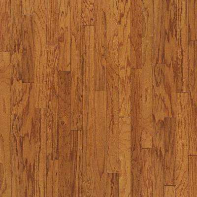 Wheat Oak 3/8 in. Thick x 3 in. Wide x Varying Length Engineered Hardwood Flooring (28 sq. ft./case)