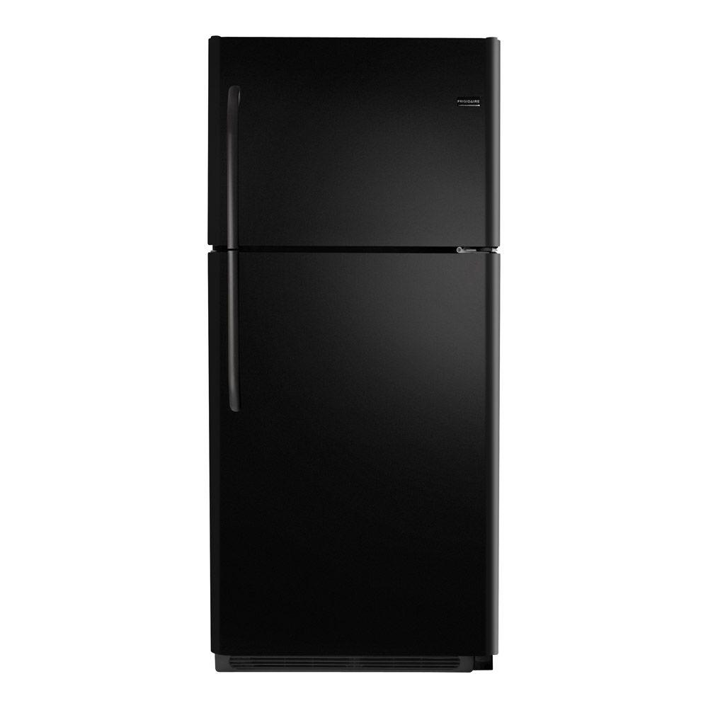 Frigidaire 21 cu. ft. Top Freezer Refrigerator in Black