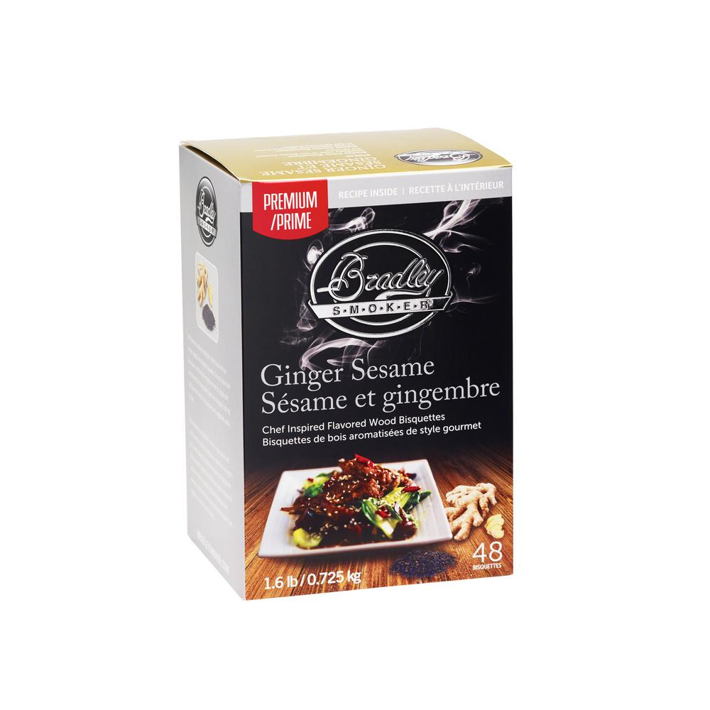 Premium Ginger Sesame Bisquettes (Box of 24)