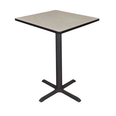 Cain Maple 30 in. Square Cafe Table