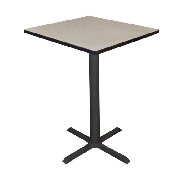 Regency Cain Maple 30 in. Square Cafe Table