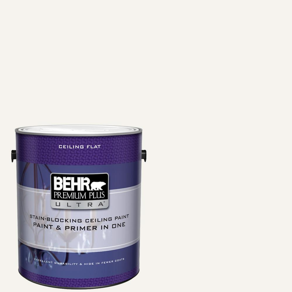 Behr Ultra 1 Gal Pure White Ceiling Flat Interior