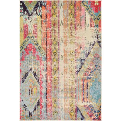 Sedona Yosemite Multi 4 ft. x 6 ft. Area Rug