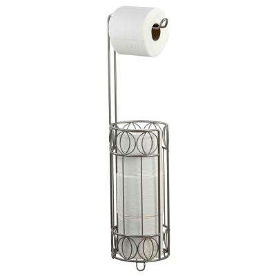Seville Toilet Paper Holder in Satin Nickel