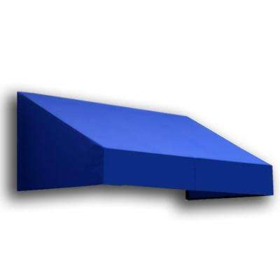40 ft. New Yorker Window/Entry Awning (24 in. H x 48 in. D) in Bright Blue