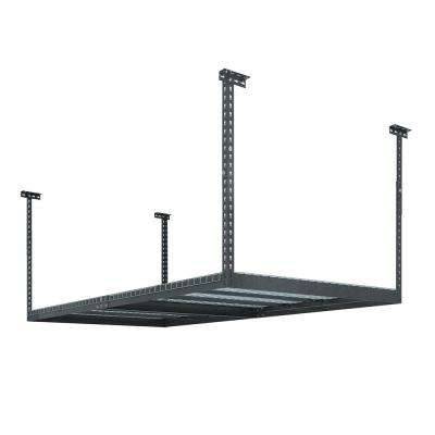 Performance 96 in. L x 48 in. W x 42 in. H Adjustable VersaRac Ceiling Storage Rack in Gray
