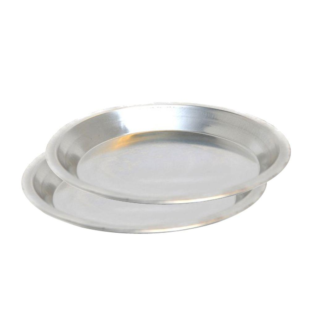 Jacob Bromwell Round Aluminum Pie Dish  sc 1 st  Home Depot & Jacob Bromwell Round Aluminum Pie Dish-TBC90002 - The Home Depot