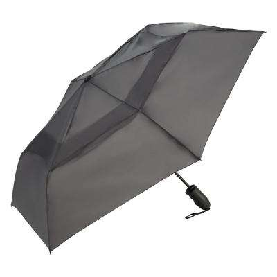 Windjammer Charcoal Vented Auto Open/Close Umbrella