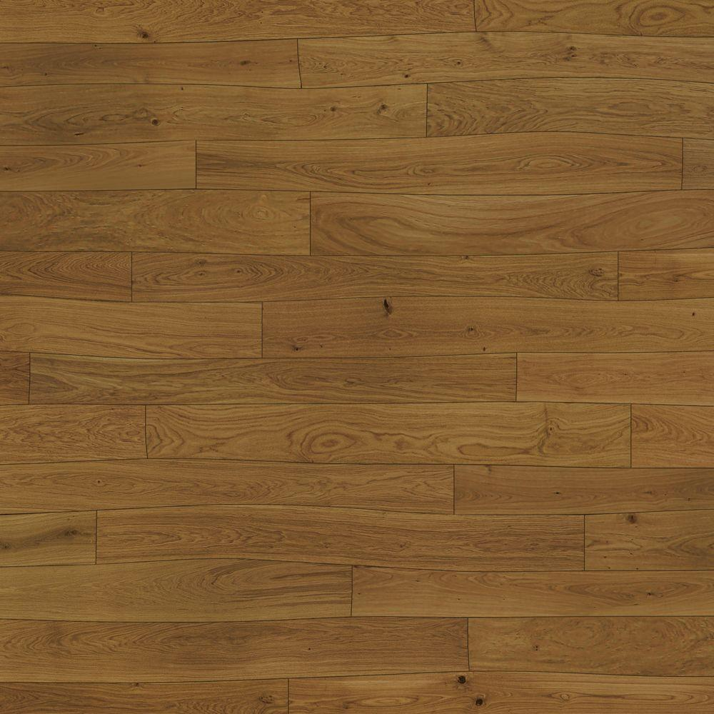 Bolefloor Curv8 Oak Dutch Gold 1/2 in. Thick x 8.66 in. Wide x 71.26 in. Length Engineered Hardwood Flooring (30 sq. ft. / case)