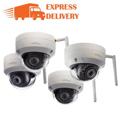 3MP Wi Fi Indoor Outdoor Dome Security Surveillance Camera With 16GB SD Cards