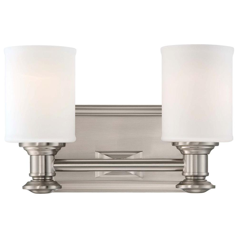 Minka Lavery Harbour Point 2-Light Liberty Gold Bath Light-5172-249 ...