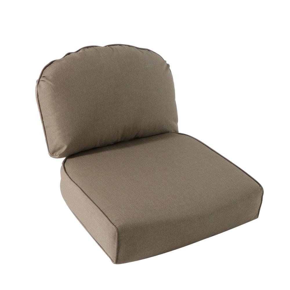 Remarkable Royal Garden Lake Adela Outdoor Lounge Chair Cushion In Tan Cjindustries Chair Design For Home Cjindustriesco