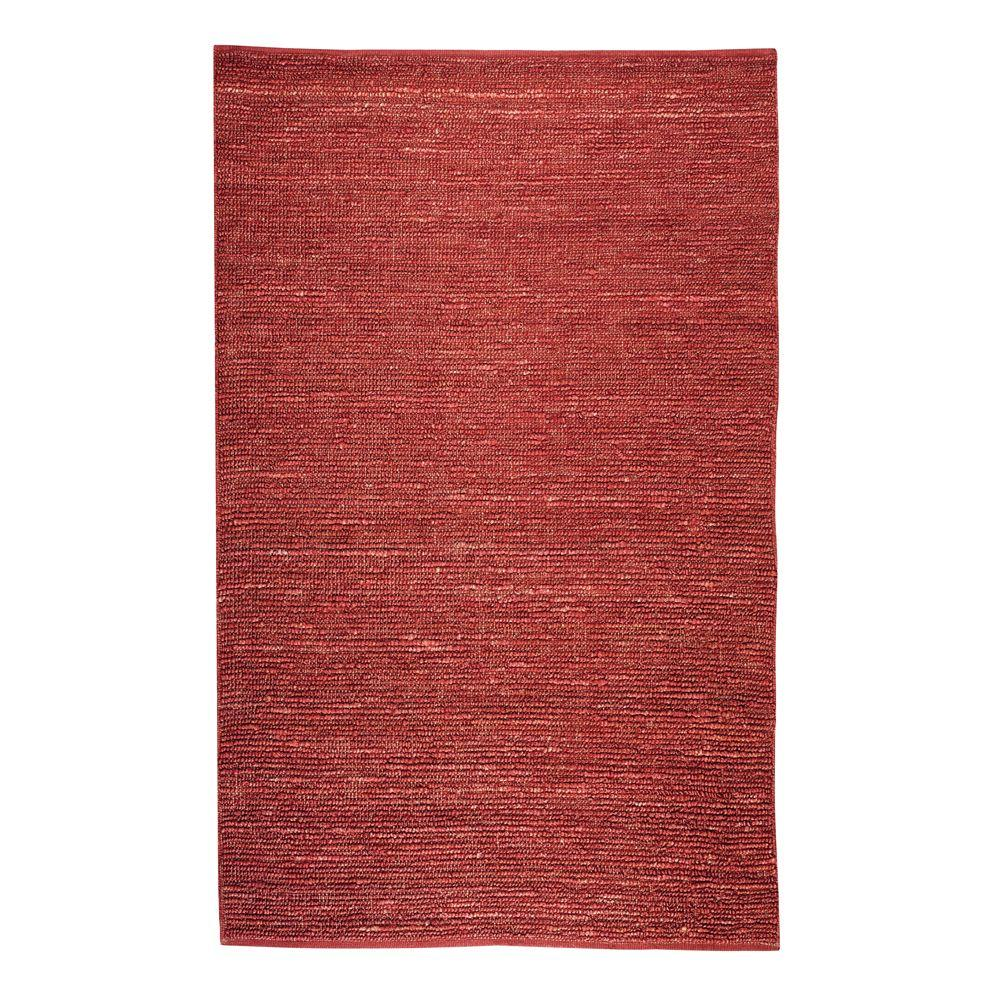 Home Decorators Collection Global Red 8 Ft X 11 Ft Area Rug 0543230110 The Home Depot