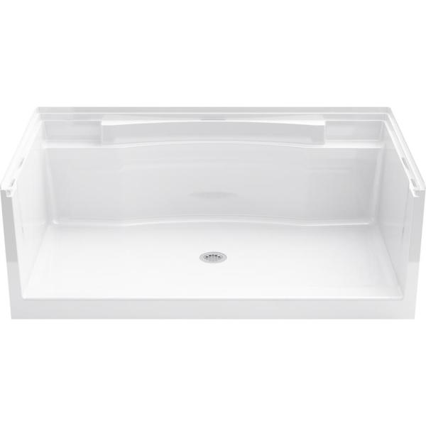 STERLING Accord 36 in. x 60 in. Single Threshold Shower Base in White