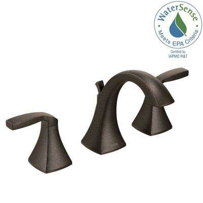 Voss 8 in. Widespread 2-Handle High-Arc Bathroom Faucet Trim Kit in Oil Rubbed Bronze (Valve Not Included)