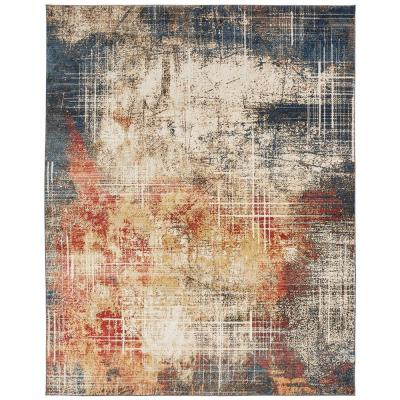 Sunset and Denim 8 ft. x 10 ft. Area Rug