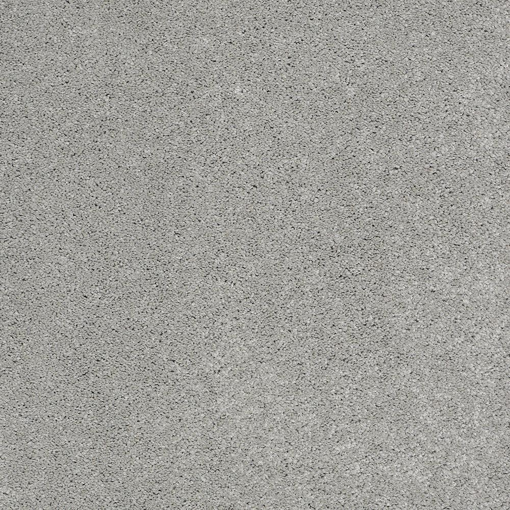 LIFEPROOF Coral Reef I - Color Old Pewter Texture 12 ft. Carpet