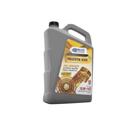 Milesyn SXR 15W-40 API CK-4, 5 Qt. Full Synthetic Diesel Motor Oil Bottle (Pack of 4)