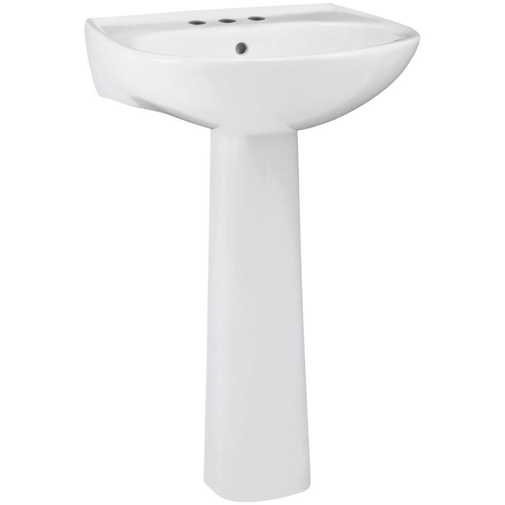 home depot bathroom sink drain sterling sacramento vitreous china pedestal combo bathroom 23348