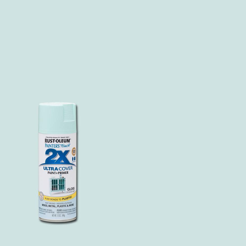 Rust-Oleum Painter's Touch 2X 12 oz. Gloss Ocean Mist General Purpose Spray Paint