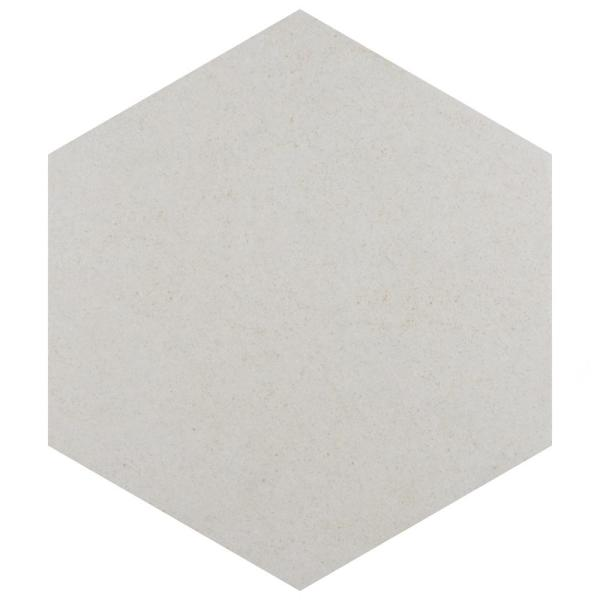 Vintage Hex Blanco 8-5/8 in. x 9-7/8 in. Porcelain Floor and Wall Tile (11.56 sq. ft. / case)