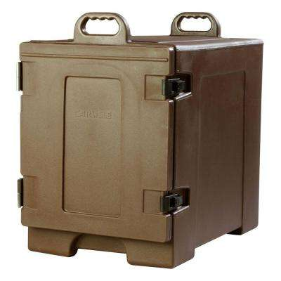 Cateraide End Loading Insulated Pan Carrier in Brown