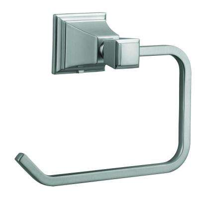 Torino Towel Ring in Satin Nickel