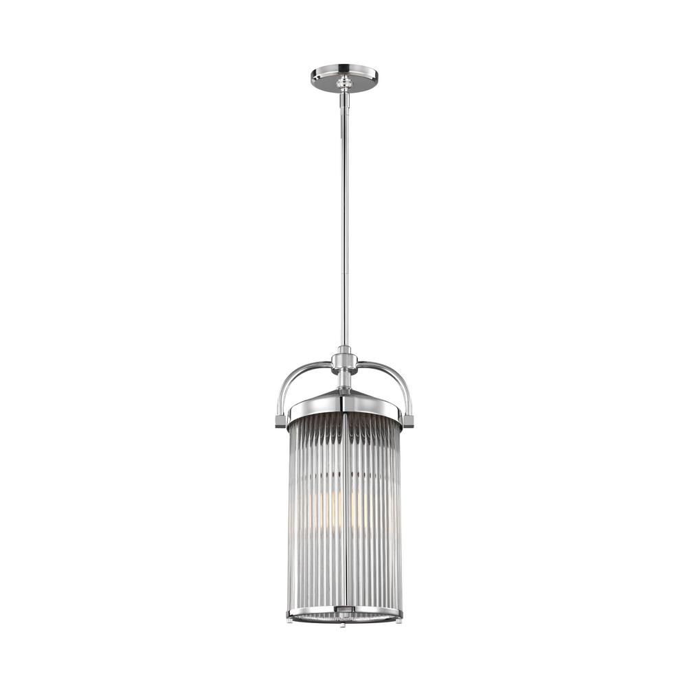 Feiss Paulson 1-Light Chrome Pendant
