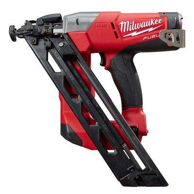 Reconditioned M18 FUEL 18-Volt Lithium-Ion Brushless Cordless 15-Gauge Angled Finish Nailer (Tool Only)