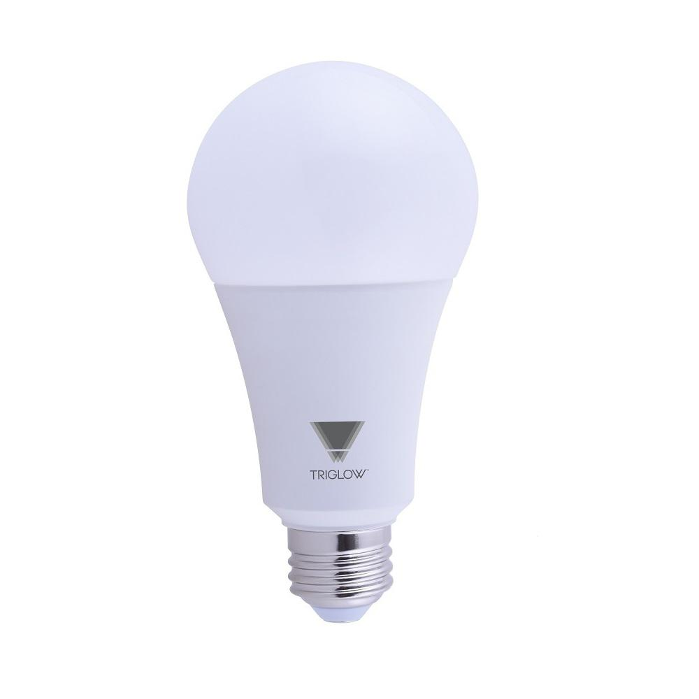 triglow 150 watt equivalent a21 dimmable 2550 lumens led light bulb daylight 5000k t95443 the. Black Bedroom Furniture Sets. Home Design Ideas