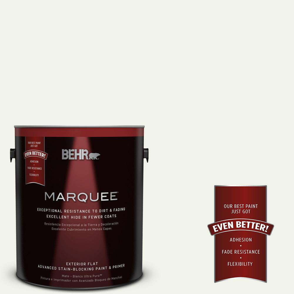 1-gal. #BWC-05 Quiet Whisper Flat Exterior Paint