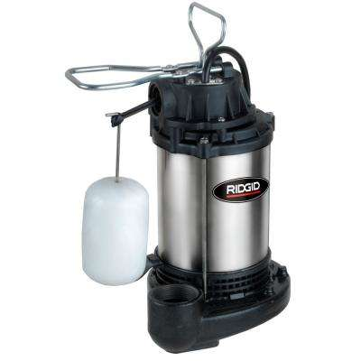 Ultra Quiet Stainless Steel Sump Pump