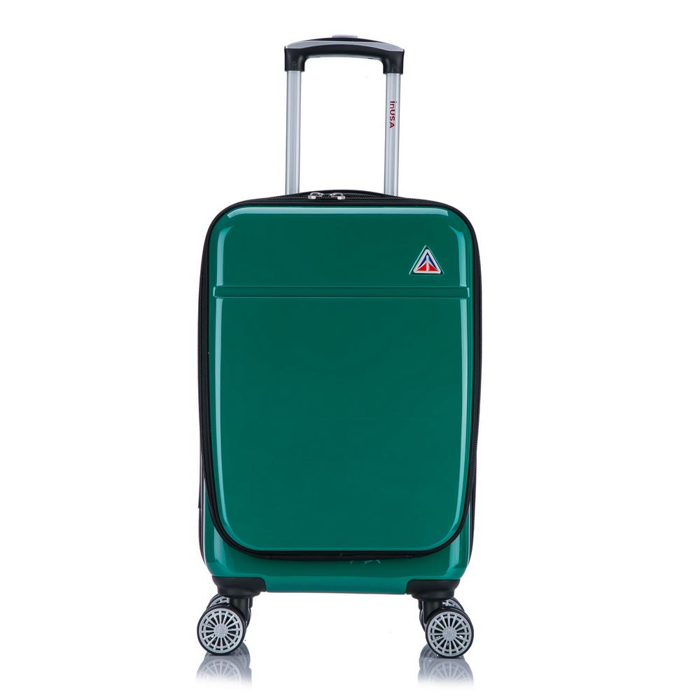 Avila lightweight hardside spinner 20 in. carry-on Green