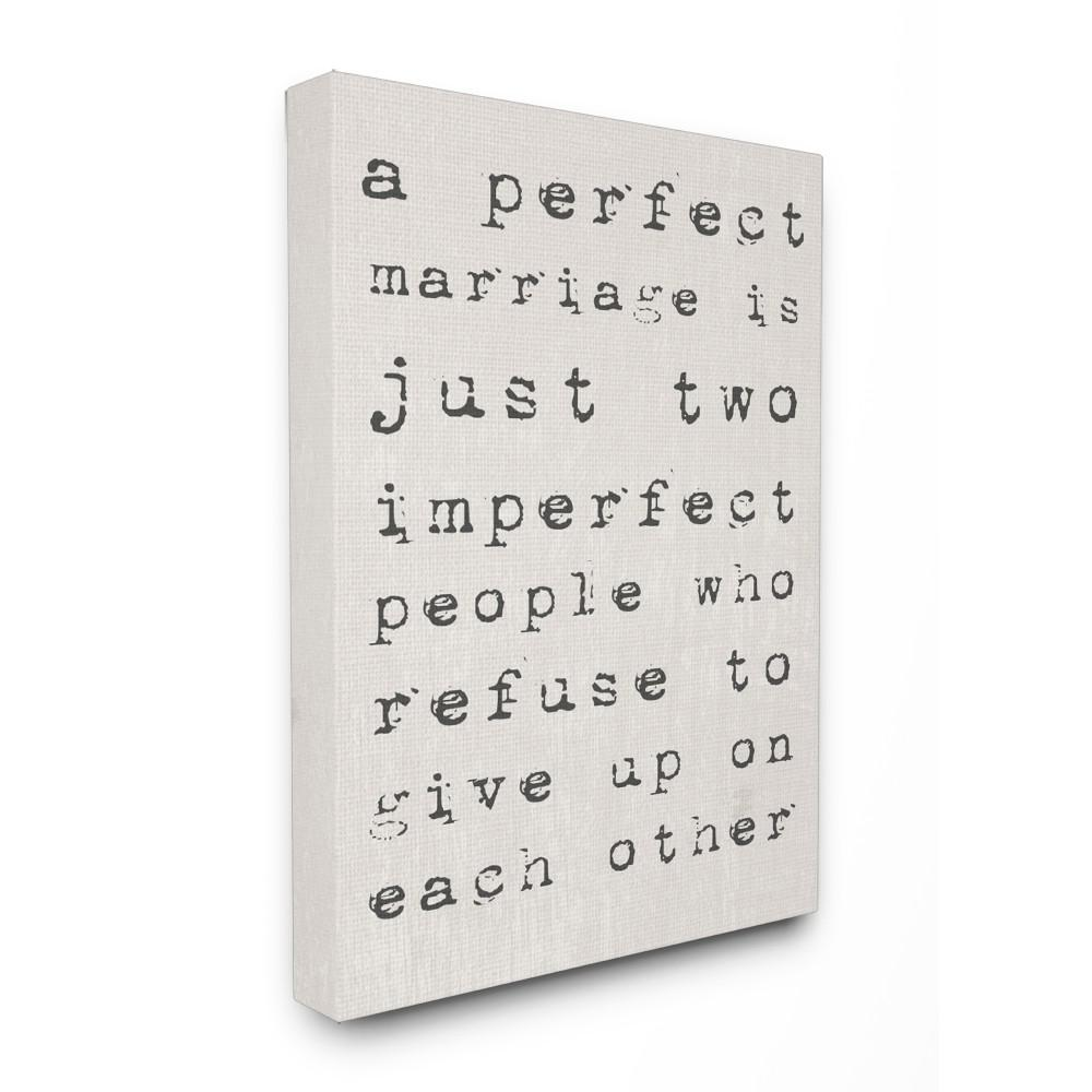 "16 in. x 20 in. ""A Perfect Marriage"" by Daphne Polselli"