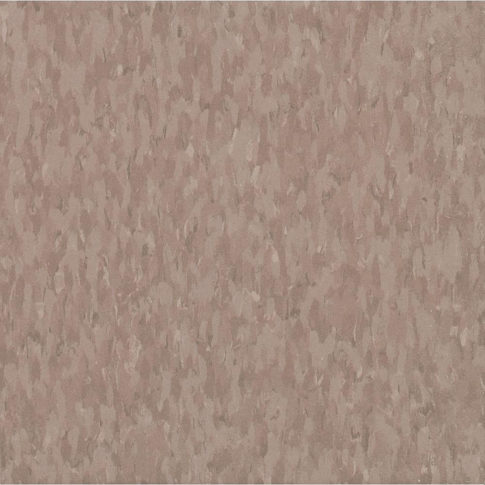 Armstrong Imperial Texture VCT 12 in. x 12 in. Rose Hip Commercial Vinyl Tile (45 sq. ft. / case)