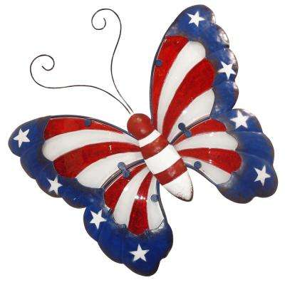 Americana Butterfly Wall Decor