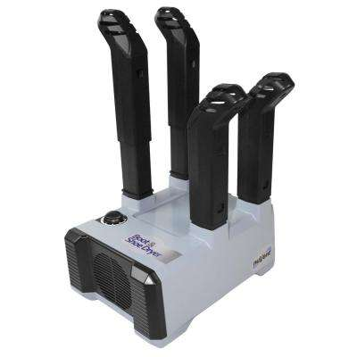 Air-Only Equipment and Shoe Dryer in Black/Gray