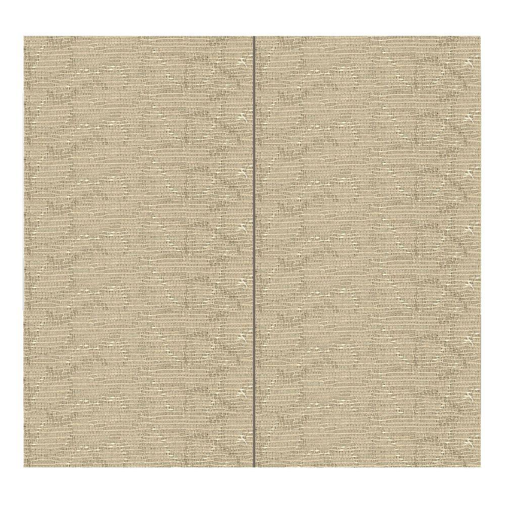 SoftWall Finishing Systems 64 sq. ft. Latte Fabric Covered Full Kit Wall Panel