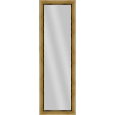 Large Rectangle Antique Gold Art Deco Mirror (52.25 in. H x 16.25 in. W)