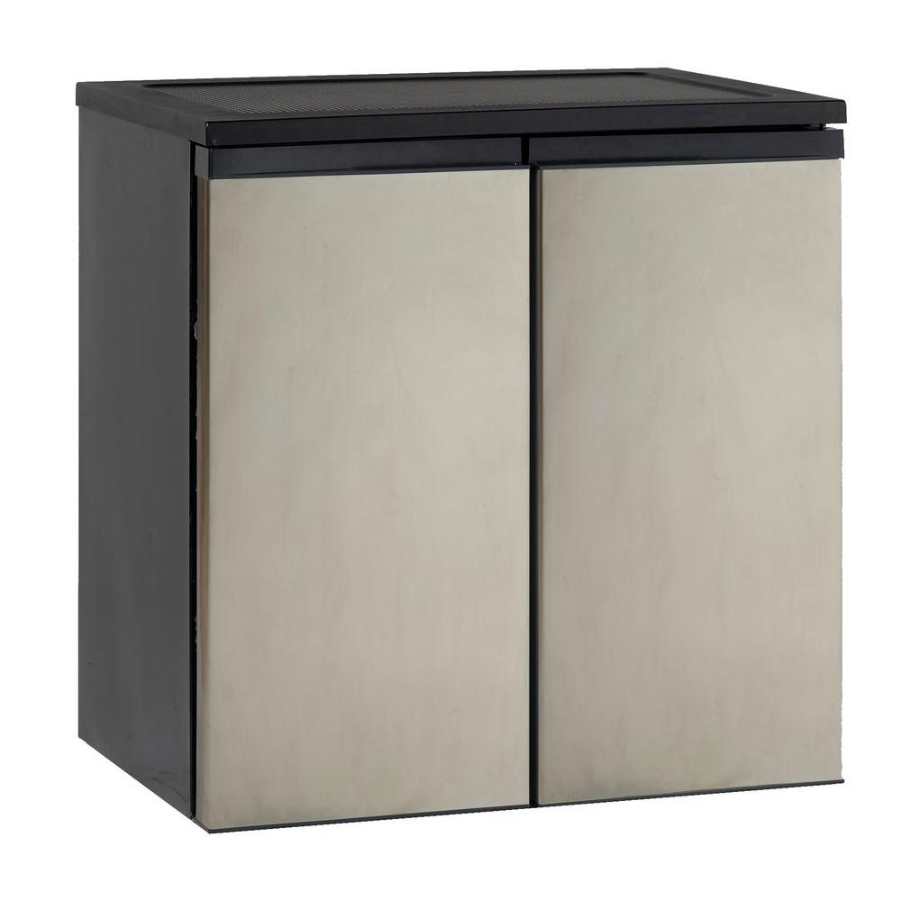 5.5 cu. ft. Mini Fridge in Stainless Steel