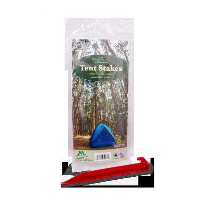 9 in. Red Tent Stakes