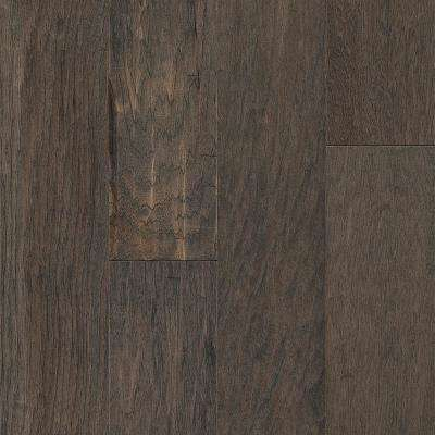 November Gray Hickory 3/8 in. T x 6-1/2 in. W x Varying Length Engineered Hardwood Flooring (26 sq. ft.)