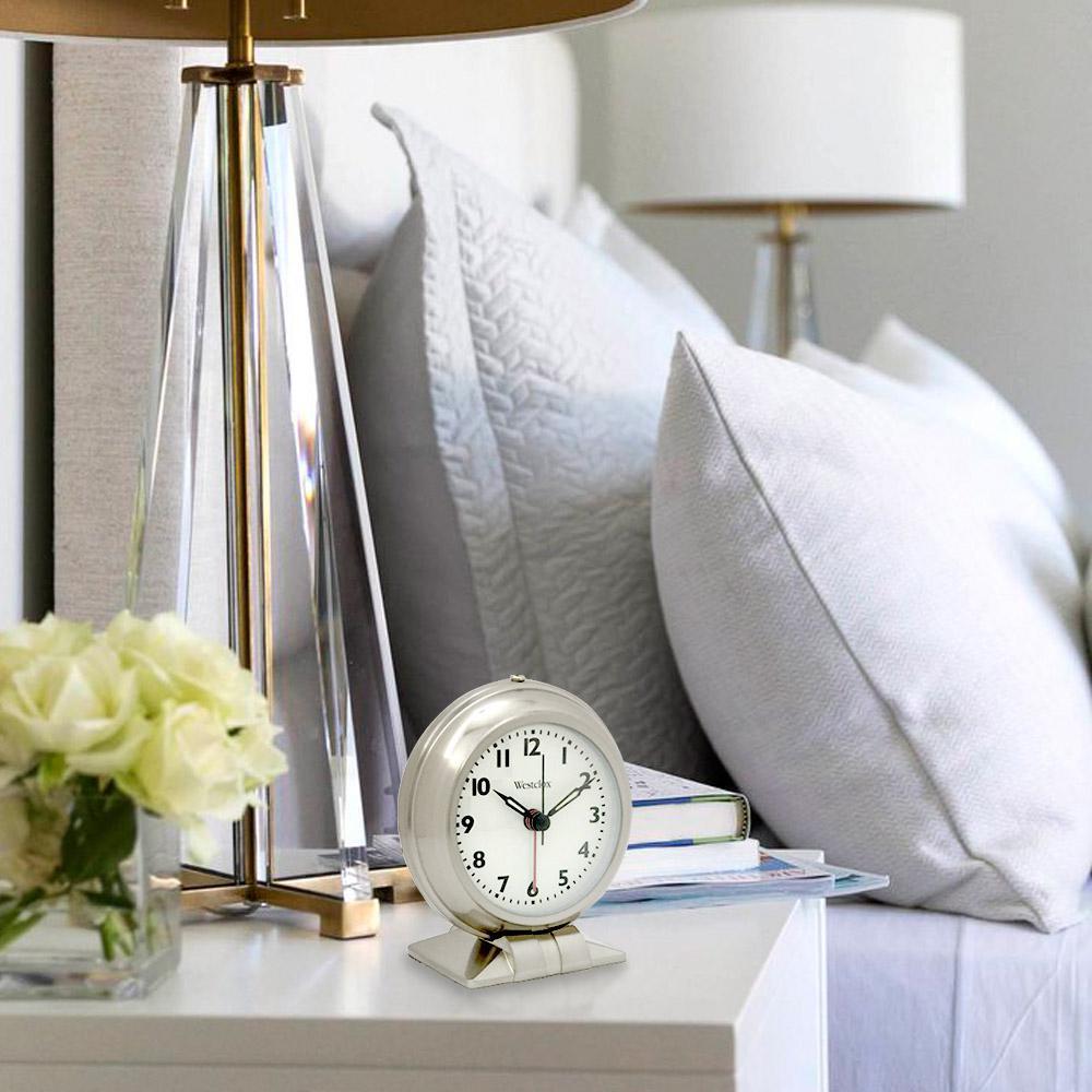 Metal Table Top Alarm Clock