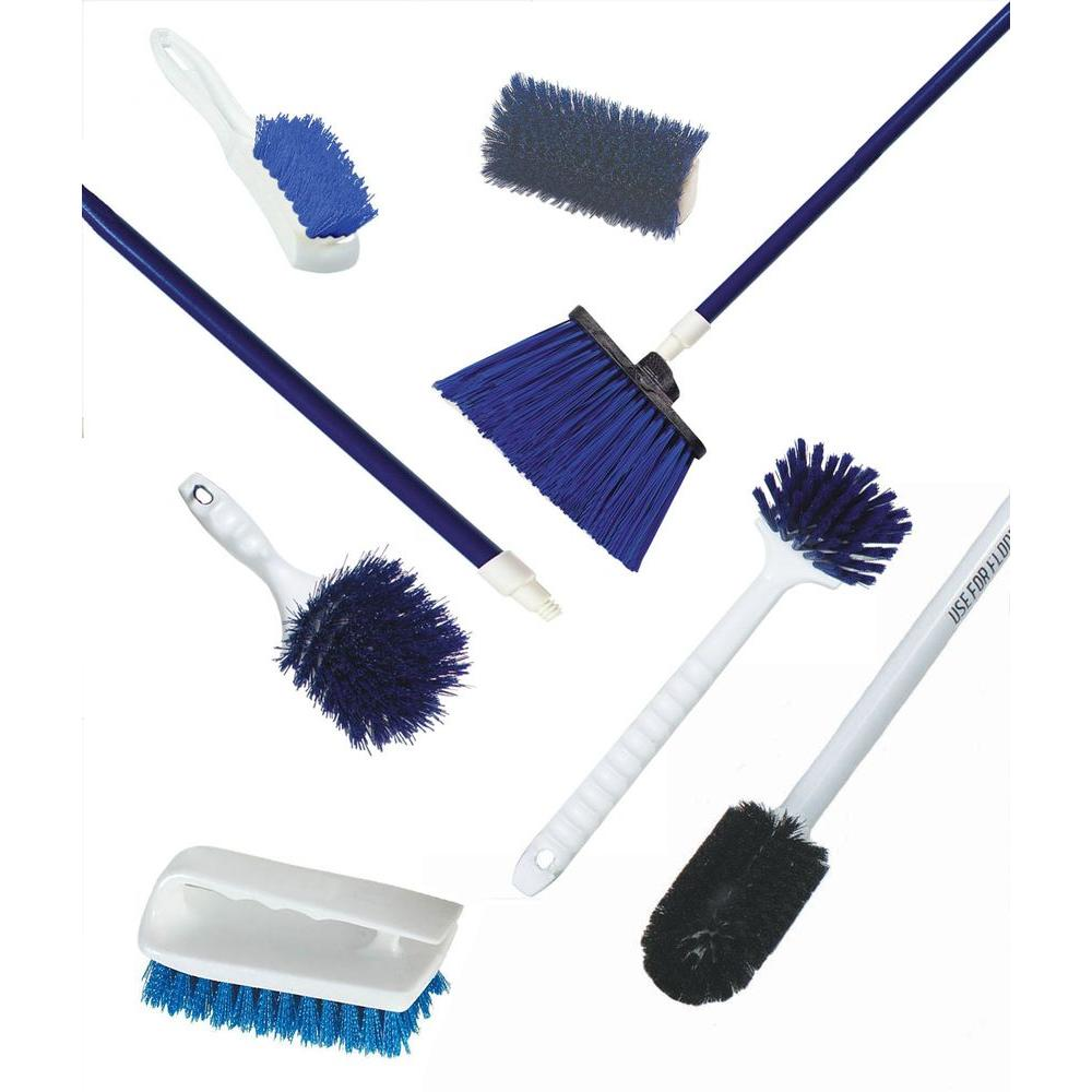 Seafood Supermarket Complete Kit of Blue Cleaning Tools