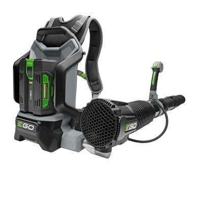 145 MPH 600 CFM 56V Lithium-Ion Cordless Electric Backpack Blower, 5.0 Ah Battery and Charger Included