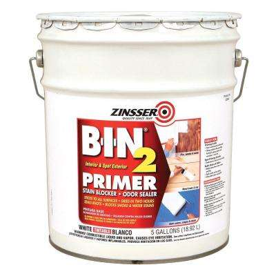 5 gal. BIN2 White Stain Odor Blocker