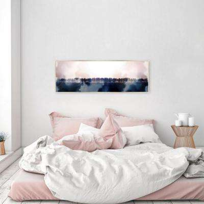 "60 in. x 20 in. ""Look at that Stunning View"" By Wynwood Studio Framed Canvas Wall Art"